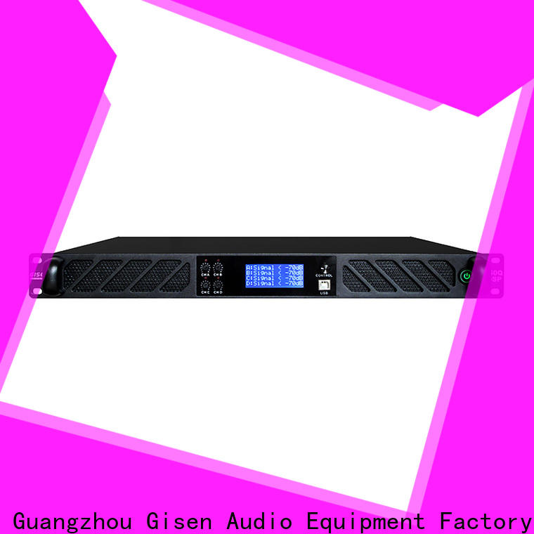 Gisen professional 1u amplifier supplier for stage