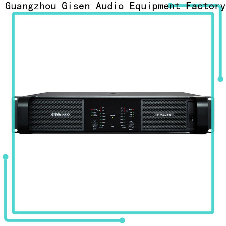 Gisen 4x1300w home audio amplifier get quotes for ktv