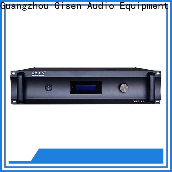 Gisen digital stereo audio amplifier great deal for private club