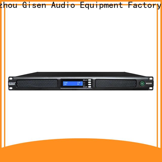 Gisen 2channel 4 channel power amplifier wholesale for entertainment club