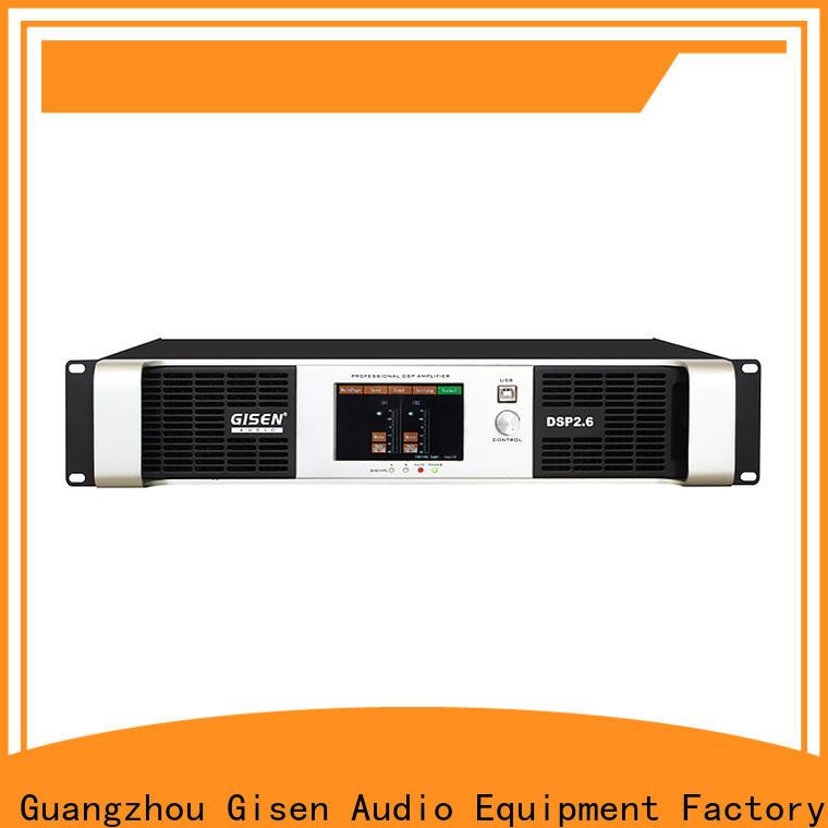 multiple functions desktop audio amplifier 2 channel wholesale for venue