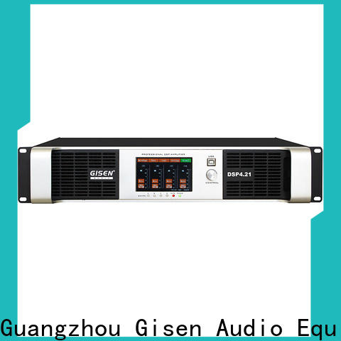 multiple functions multi channel amplifier 8ohm supplier for performance
