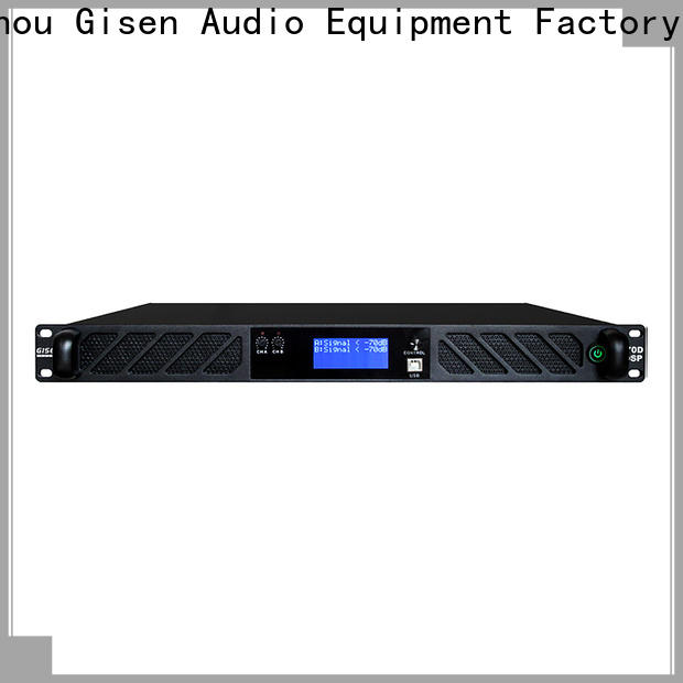 Gisen professional multi channel amplifier factory for performance