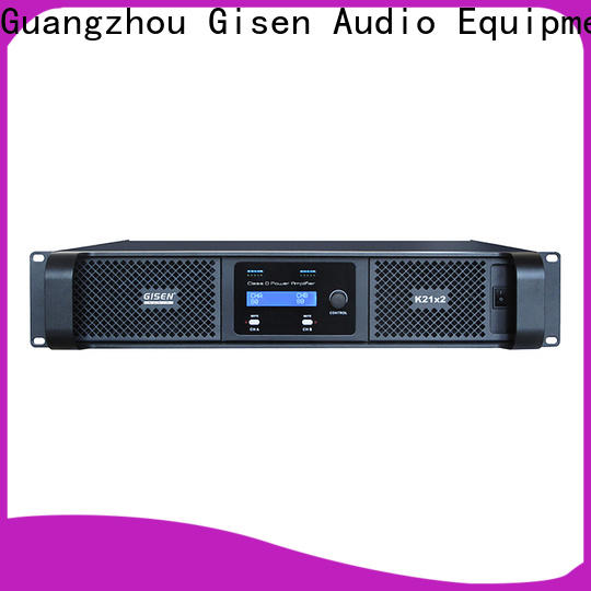 Gisen professional sound digital amplifier fast delivery for performance