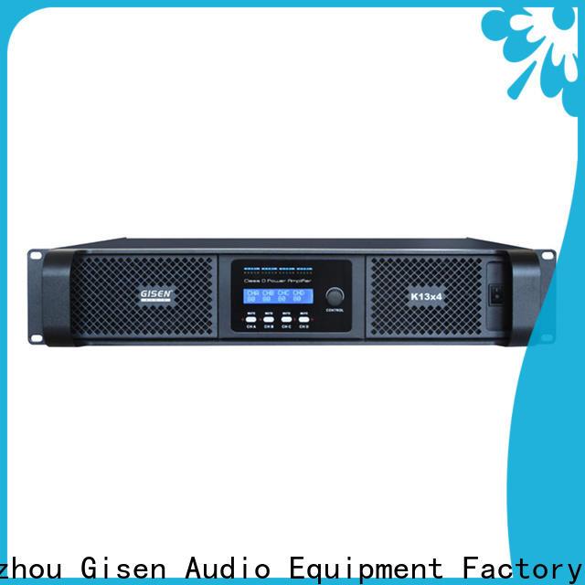 Gisen power sound digital amplifier manufacturer for ktv