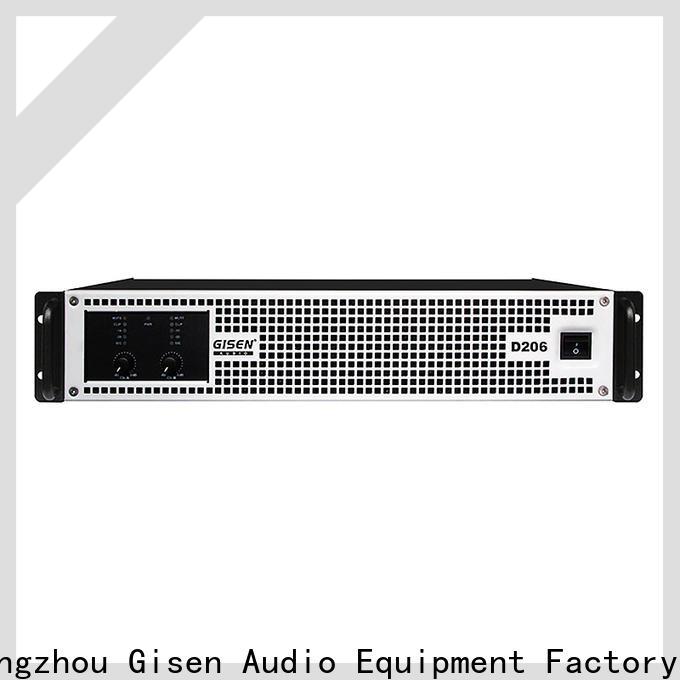 Gisen high efficiency class d amplifier fast shipping for ktv