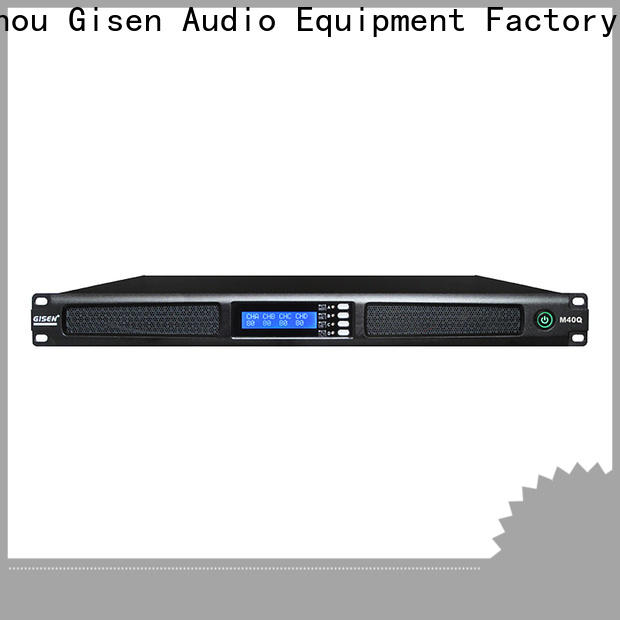 Gisen power professional power amplifier supplier for venue