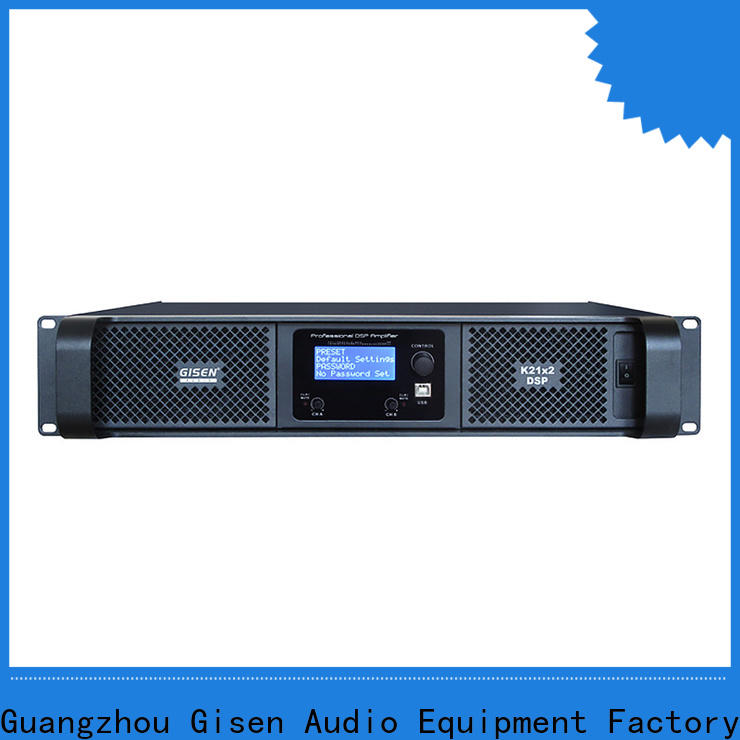 high quality 1u amplifier 2 channel factory for performance