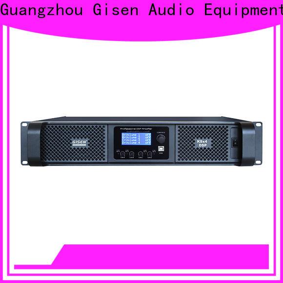 professional dsp amplifier 2 channel manufacturer for venue