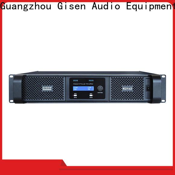 Gisen full range digital audio amplifier supplier for meeting