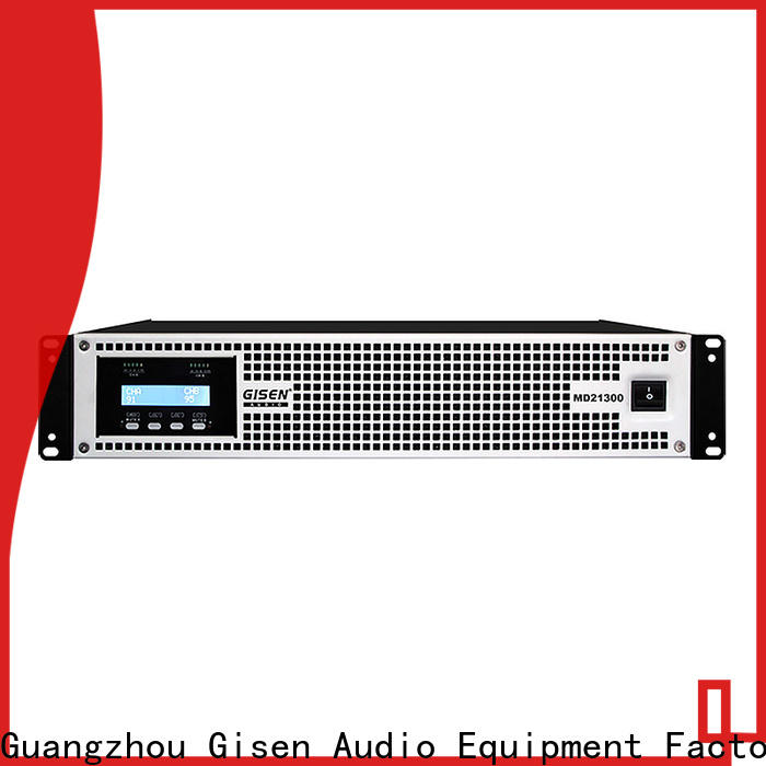 Gisen hot selling best audio amplifier sale price for vocal concert