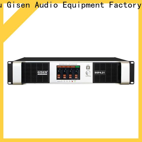 multiple functions desktop audio amplifier 2100wx2 supplier for stage