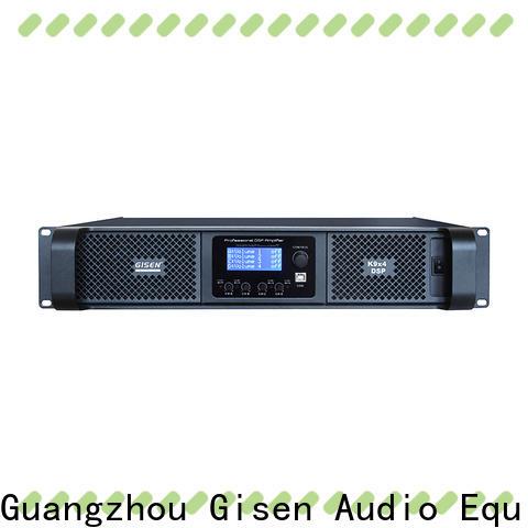 multiple functions dsp amplifier 2100wx2 supplier for venue