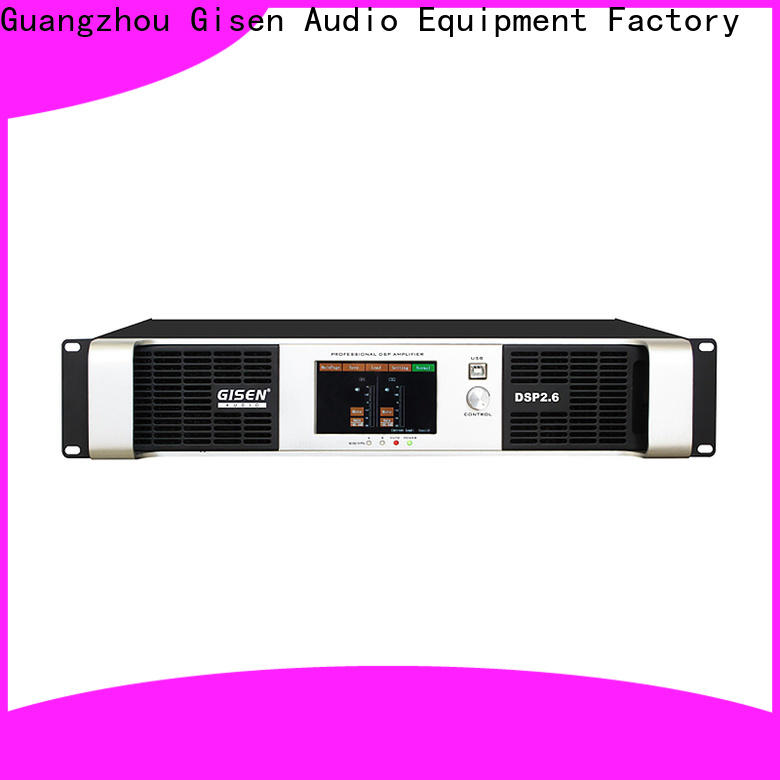 Gisen multiple functions amplifier sound system supplier for various occations