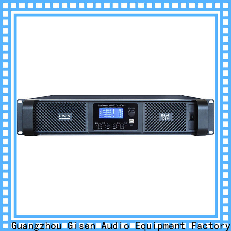 high quality dj power amplifier dsp wholesale for performance