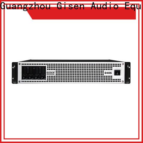 Gisen guangzhou class d digital amplifier fast shipping for meeting