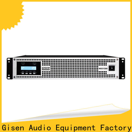 Gisen strict inspection high end amplifiers overseas market for performance