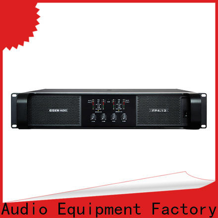 unrivalled quality class td amplifier 4x1300w one-stop service supplier for ktv