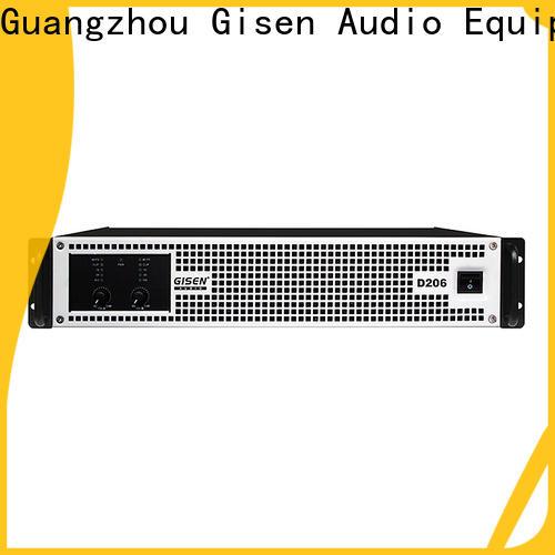 Gisen guangzhou class d audio amplifier manufacturer for meeting