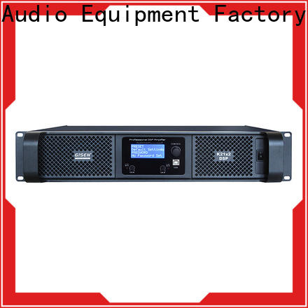 Gisen channel dj power amplifier manufacturer for various occations