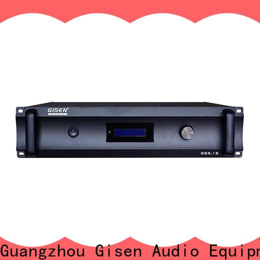 Gisen oem odm home stereo amplifier exporter for ktv