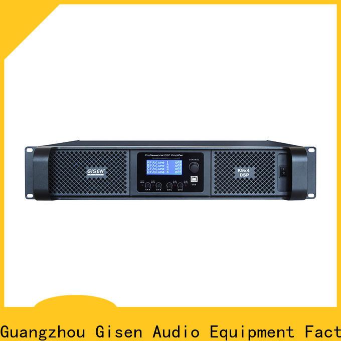 Gisen professional desktop audio amplifier wholesale for venue