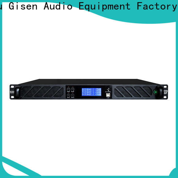 Gisen professional best power amplifier in the world factory for stage