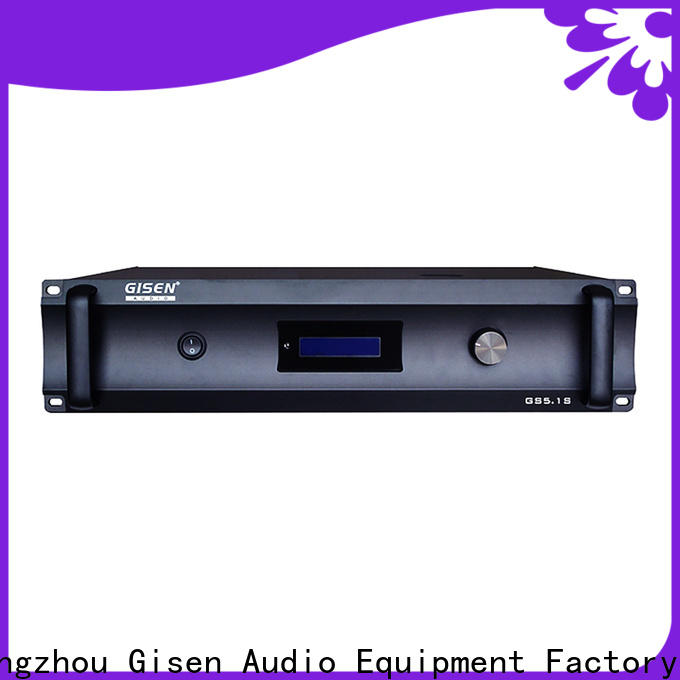 Gisen oem odm home theater subwoofer amplifier fair trade for indoor place