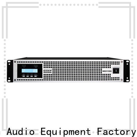 Gisen power high end amplifiers overseas market for entertaining club
