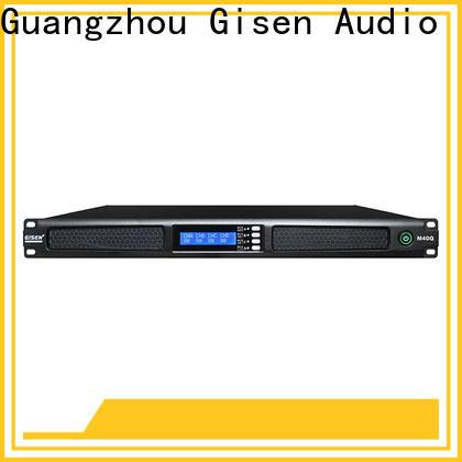 Gisen new model digital amplifier supplier for venue