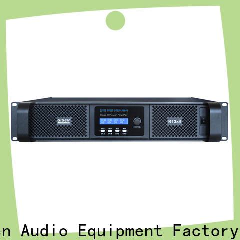 high efficiency class d power amplifier class manufacturer for ktv