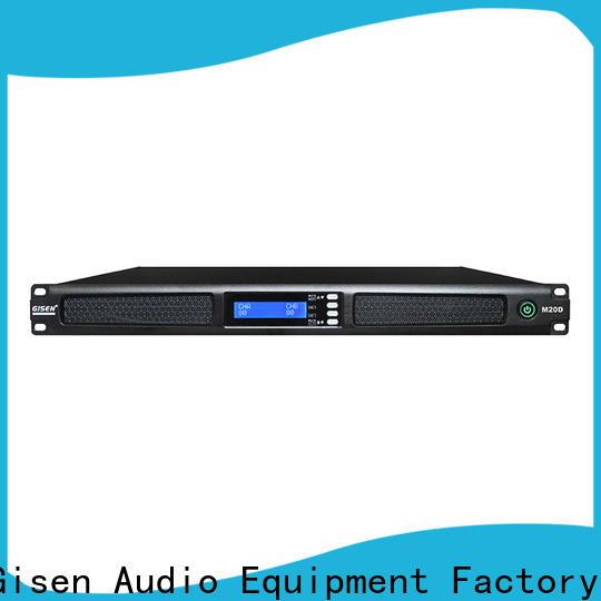 Gisen new model sound amplifier supplier for venue