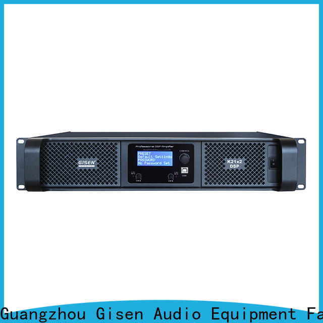 Gisen amplifier best power amplifier in the world supplier for various occations