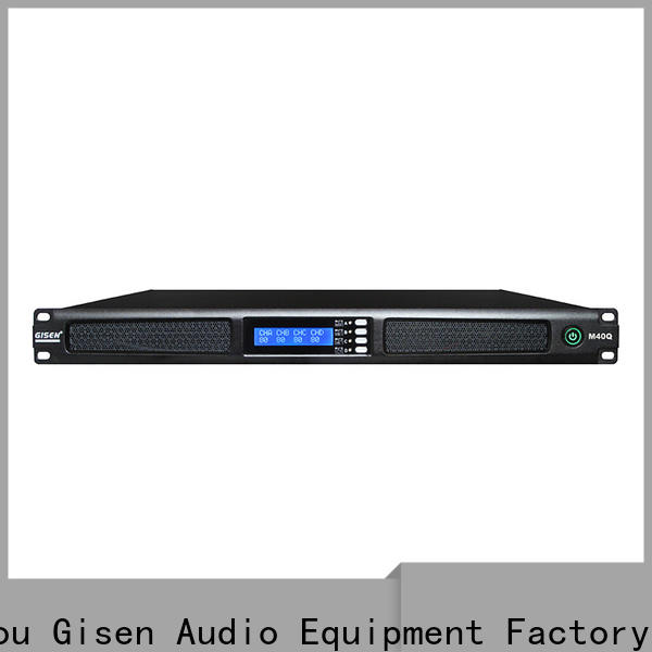 Gisen 2channel audio amplifier manufacturer for performance