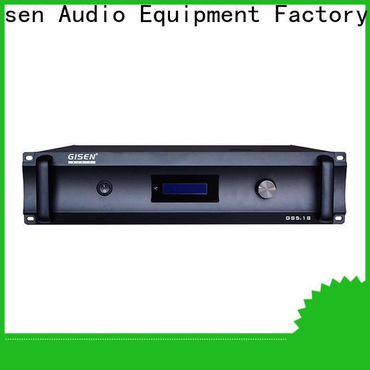 Gisen oem odm home theater subwoofer amplifier manufacturer for indoor place