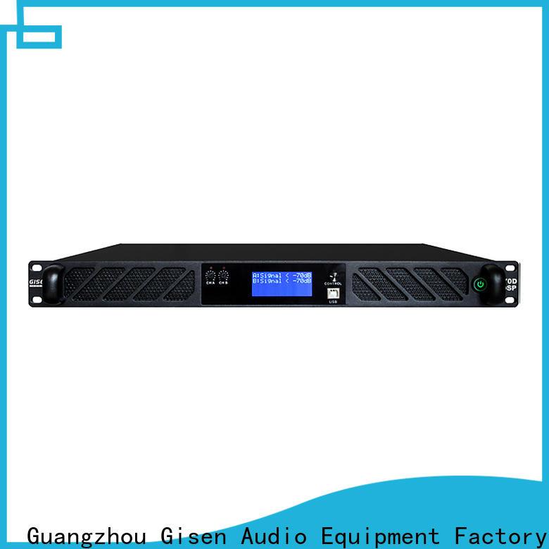 Gisen channel dsp amplifier manufacturer