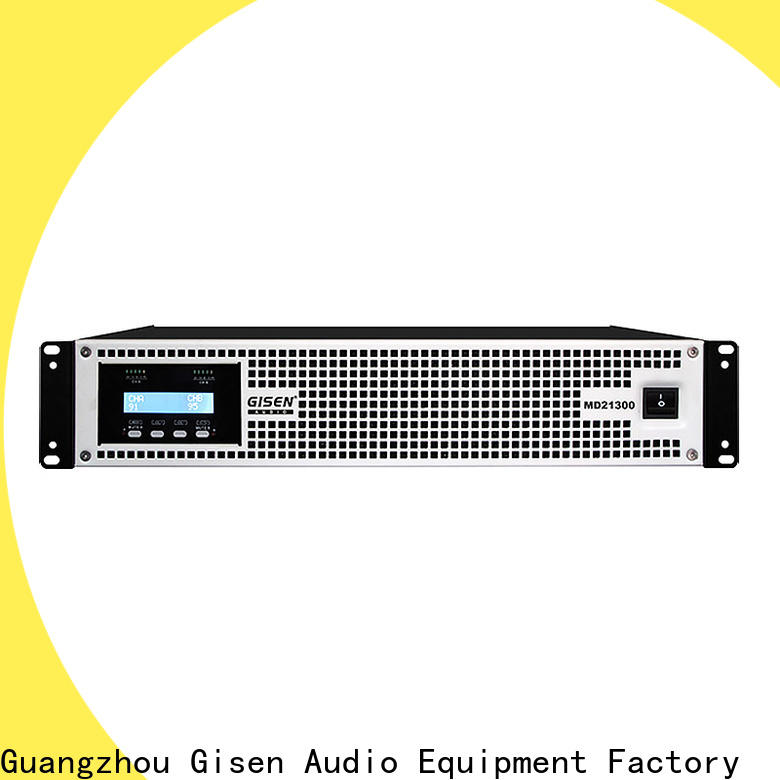Gisen traditional best audio amplifier overseas market for entertaining club