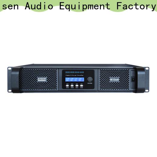 guangzhou class d amplifier digital wholesale for stadium