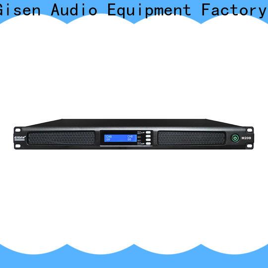 new model digital power amplifier 2channel supplier for venue