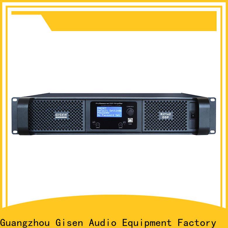 Gisen german best power amplifier in the world wholesale for venue