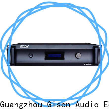 Gisen oem odm 4 channel amplifier home exporter for private club