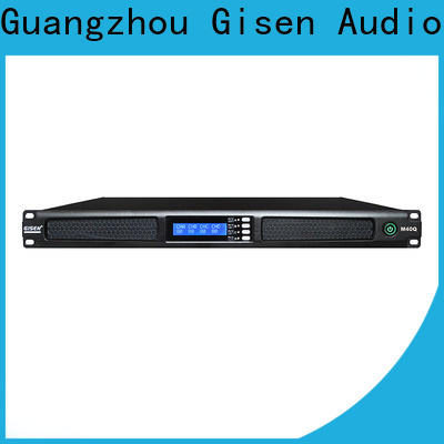 Gisen class professional amplifier supplier for performance