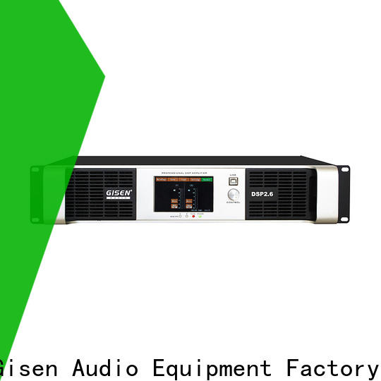 Gisen 8ohm desktop audio amplifier supplier for performance
