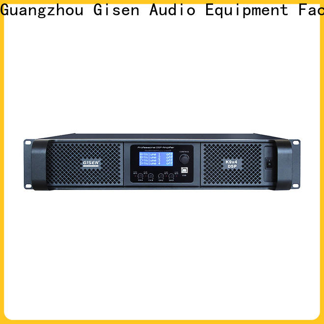 Gisen professional dsp power amplifier wholesale for performance