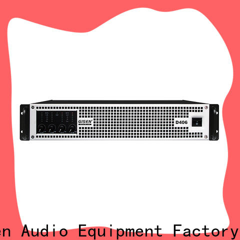 Gisen power class d amplifier fast shipping for stadium