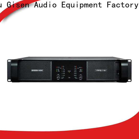 Gisen unreserved service amplifier for home speakers one-stop service supplier for performance