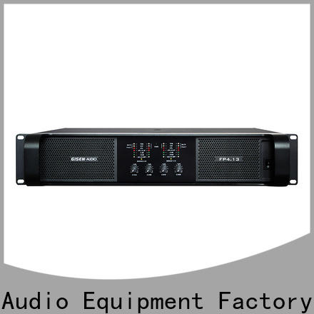 Gisen quality assurance professional amplifier source now for vocal concert