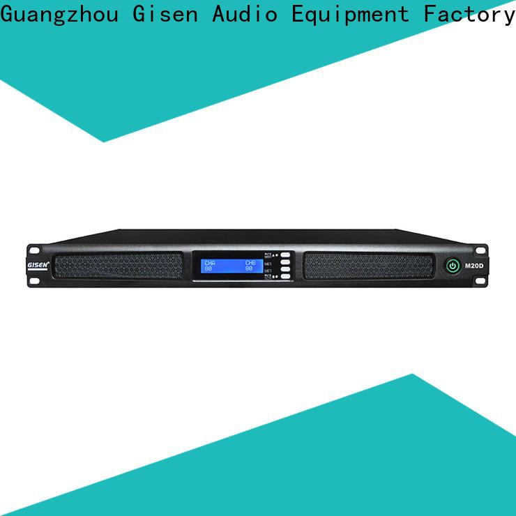 Gisen new model audio power amplifier series for performance