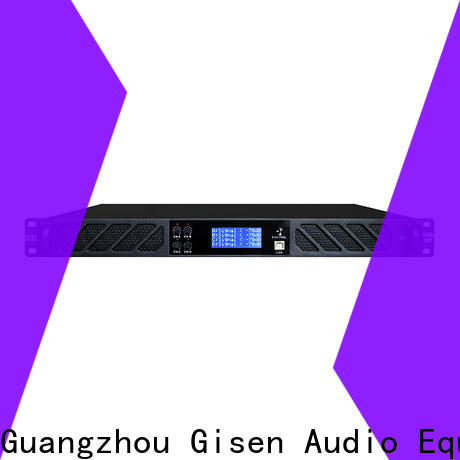 Gisen dsp amplifier sound system factory for venue