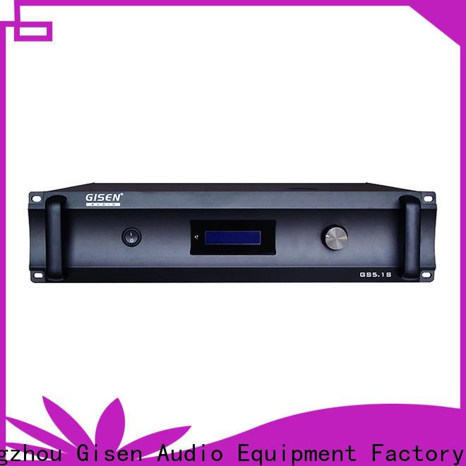 Gisen durable home stereo amplifier great deal for ktv